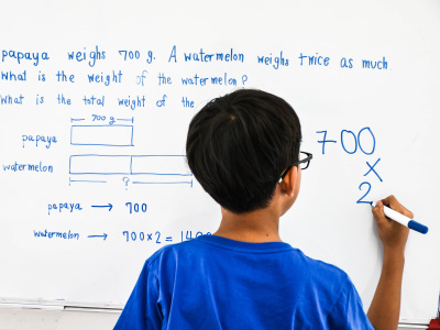 Developing mathematics, reading and language competence via word problems